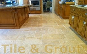 home page tile and grout